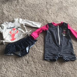 Infant Girls' Bathing Suits